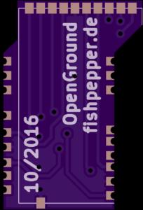 OpenGround - CC2500 adapter pcb