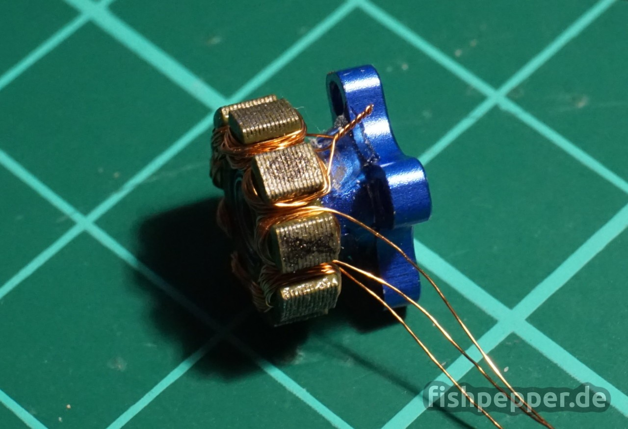 Tutorial: Brushless motor rewinding based on a BR1103B – fishpepper.de